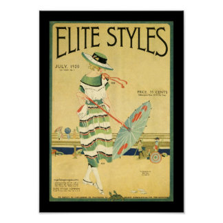 Elite Styles 1920 Poster