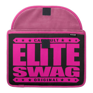 ELITE SWAG - Greatest in Trolling Haters to Tears Sleeves For MacBook Pro