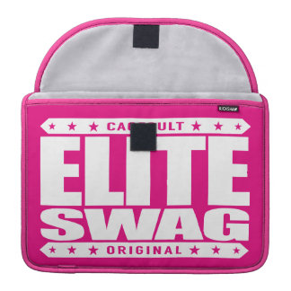 ELITE SWAG - Greatest in Trolling Haters to Tears Sleeves For MacBooks