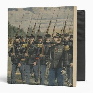 Elite troops of French army Binder
