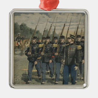 Elite troops of French army Metal Ornament
