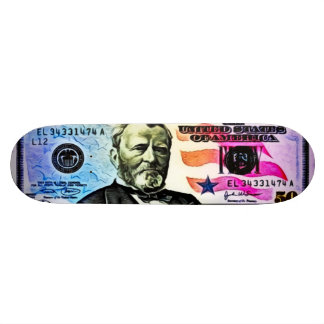 Elite Ulysses Airbrush Trick Deck Custom Skateboard