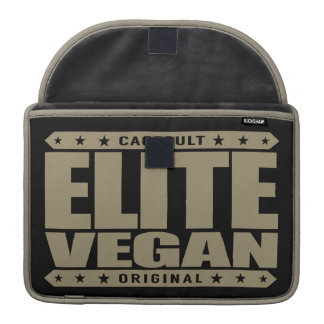ELITE VEGAN - I'm The Greatest Plant-Based Fighter MacBook Pro Sleeve