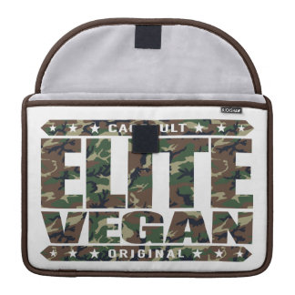 ELITE VEGAN - I'm The Greatest Plant-Based Fighter Sleeve For MacBook Pro