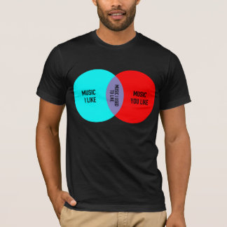 Elitist Venn diagram tee