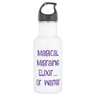 Elixir mágico de la jaqueca…. agua