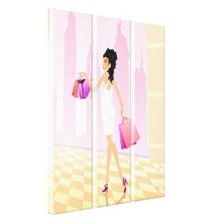Elixir of Shopping Canvas Poster Canvas Print