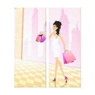 Elixir of Shopping Canvas Print 2