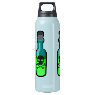 Elixir of Superpower - Skull and Crossbones Thermos Bottle