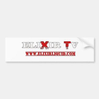 ELIXIR TV BUMPER STICKER