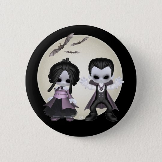 Eliza And Bash Little Gothics Button