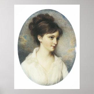Eliza Izard (Jr.) de señora Thomas Pinchney, 1801 Póster