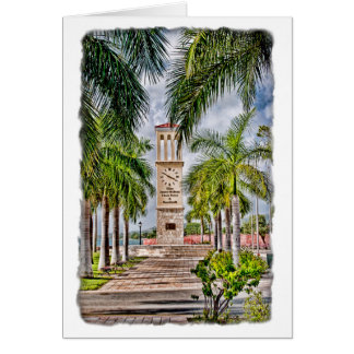 Eliza James McBean Clock Tower St. Croix Note Card