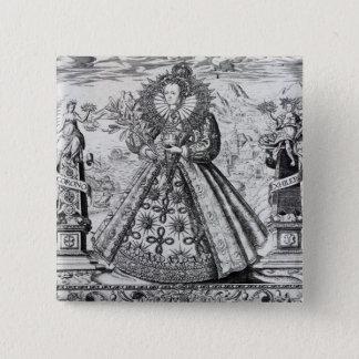Eliza Triumphans, 1589 Pinback Button