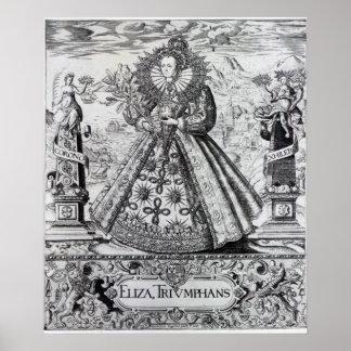 Eliza Triumphans, 1589 Poster
