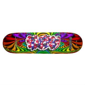 Elizabeth 01 ~ Custom Graffiti Art Pro Skateboard