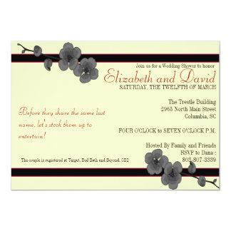 Elizabeth and David- Stock the Bar 2 5x7 Paper Invitation Card