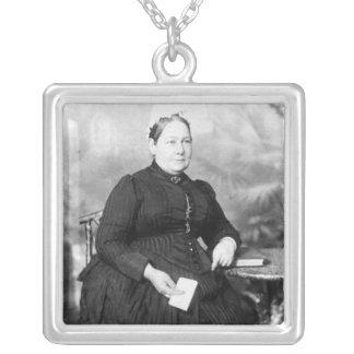 Elizabeth Ann Everest, Nanny to Winston Silver Plated Necklace