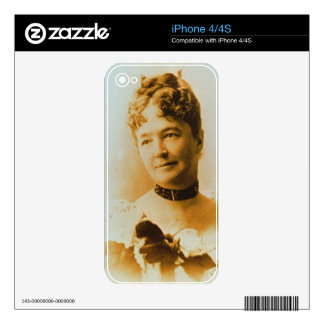 Elizabeth Bacon Custer (1842-1933) wife of General iPhone 4S Skins