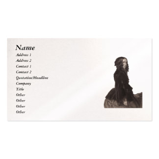 Elizabeth Barrett Browning - 42 Double-Sided Standard Business Cards (Pack Of 100)