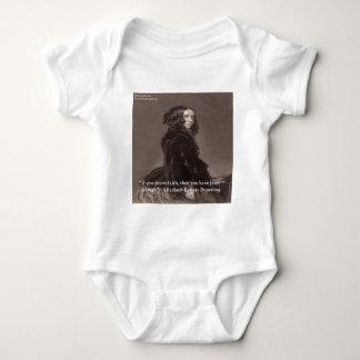 Elizabeth Barrett Browning Faith Desire Quote Infant Creeper