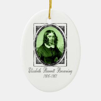 Elizabeth Barrett Browning Ornament