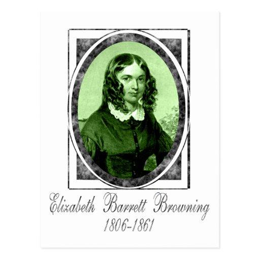 Elizabeth Barrett Browning Postcard