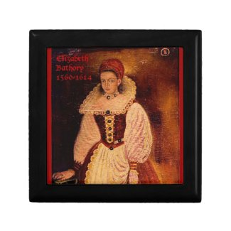 Elizabeth Bathory (English caption) Jewelry Box