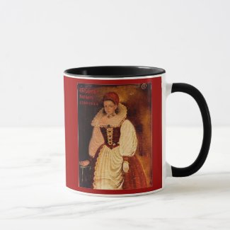 Elizabeth Bathory (English caption) Mug