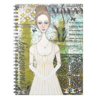 Elizabeth Bennet Spiral Notebook