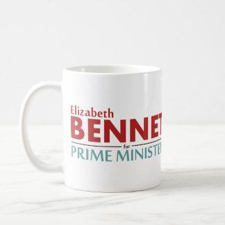 Elizabeth Bennet para el primer ministro taza de