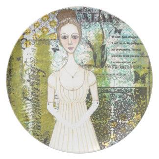 Elizabeth Bennet Plato De Comida