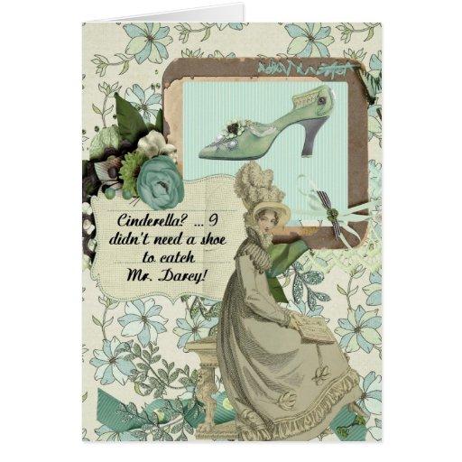 Elizabeth Bennet's Boast Card