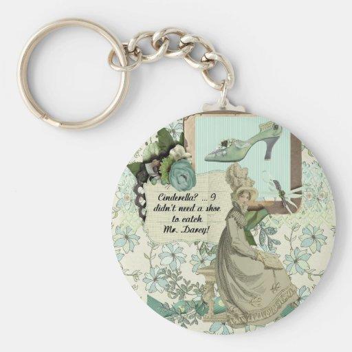 Elizabeth Bennet's Boast Keychain