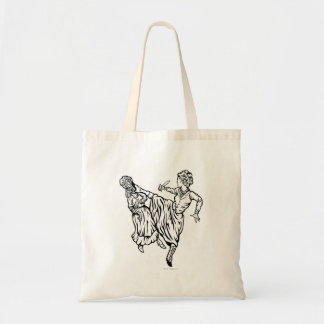 Elizabeth Bennett Kicks Ass Tote Bag
