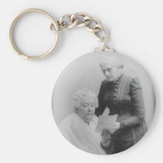 Elizabeth Cady Stanton and Susan B. Anthony Keychain