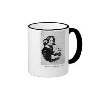Elizabeth Cady Stanton & daughter. Mug