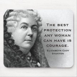 Elizabeth Cady Stanton Mousepad