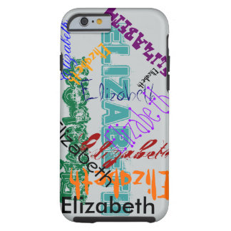 Elizabeth Case iPhone Name Case