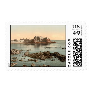 Elizabeth Castle, St Heliers, Jersey, England Postage Stamp