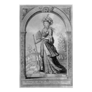 Elizabeth Charlotte of the Palatinate Print