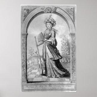 Elizabeth Charlotte of the Palatinate Poster