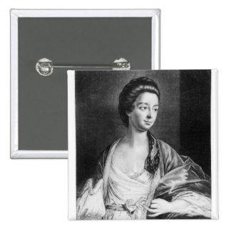 Elizabeth Chudleigh  Countess of Bristol Pinback Button
