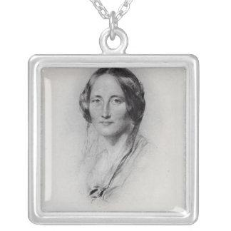 Elizabeth Cleghorn Gaskell Pendientes Personalizados