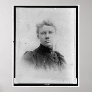 Elizabeth Cochrane Nellie Bly Póster