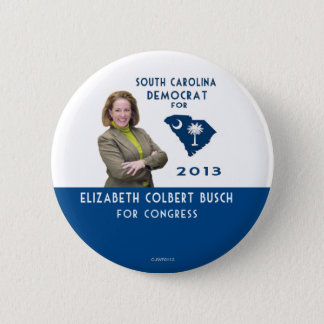 Elizabeth Colbert Busch for Congress button