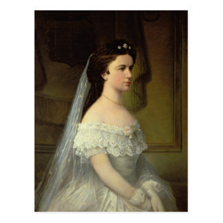Elizabeth de Baviera, emperatriz de Austria Tarjetas Postales