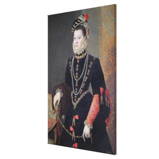 Elizabeth de Valois, 1604-8 Canvas Print
