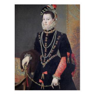 Elizabeth de Valois, 1604-8 Postcard