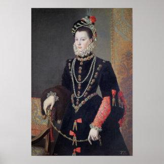 Elizabeth de Valois, 1604-8 Poster